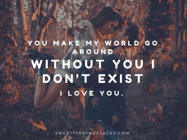 Dulce y conmovedoras mensajes de texto de I Love You 10