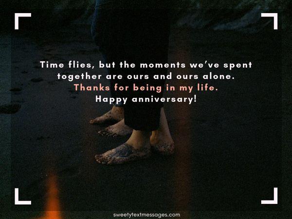 Párrafo de aniversario de 1 mes para el novio y la novia 11