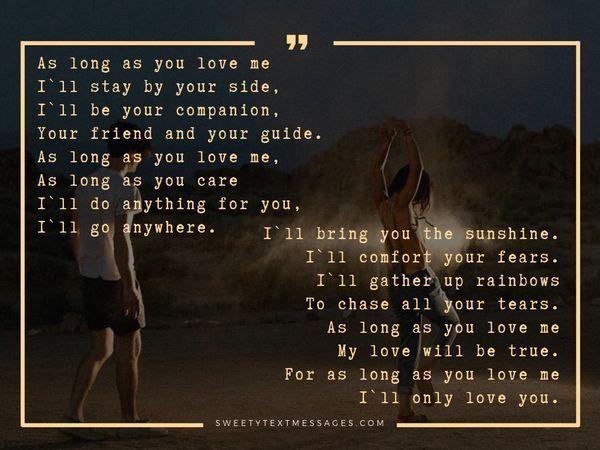 Poemas románticos sobre el amor para ella - Sorprende el texto de tu amor 16