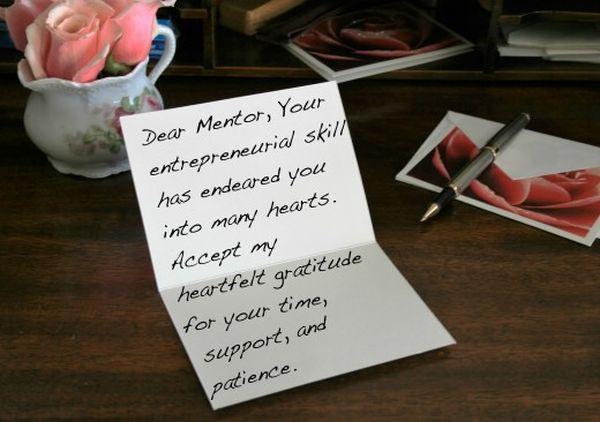 Las mejores notas de agradecimiento para su jefe 13