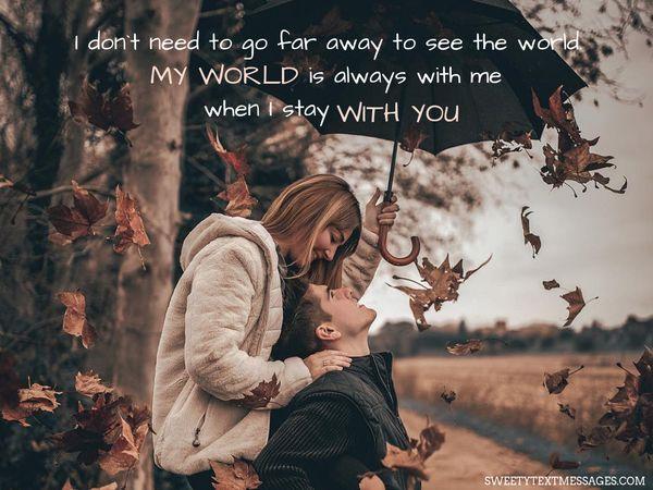 Eres mi mundo Citas, eres mi todo 5