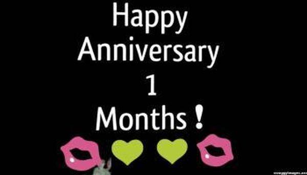 Párrafo de aniversario de 1 mes para el novio y la novia 24