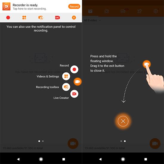 Cómo grabar la pantalla en un dispositivo Android 3