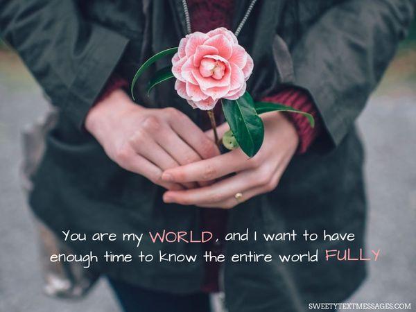 Eres mi mundo Citas, eres mi todo 4