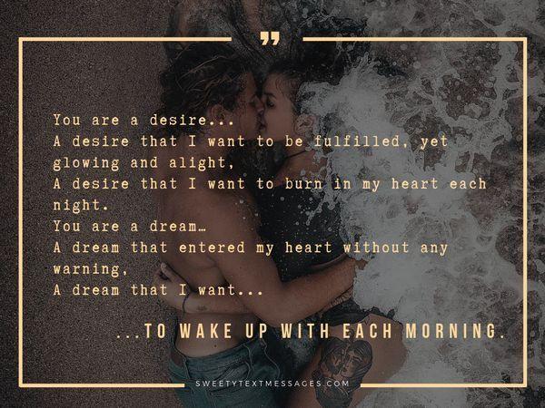 Poemas románticos sobre el amor para ella - Sorprende el texto de tu amor 6