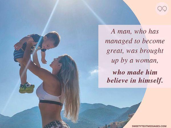 Citas de Madre e Hijo Amorosos con un profundo significado 7