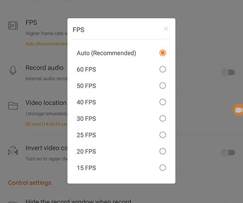 Cómo grabar la pantalla en un dispositivo Android 7