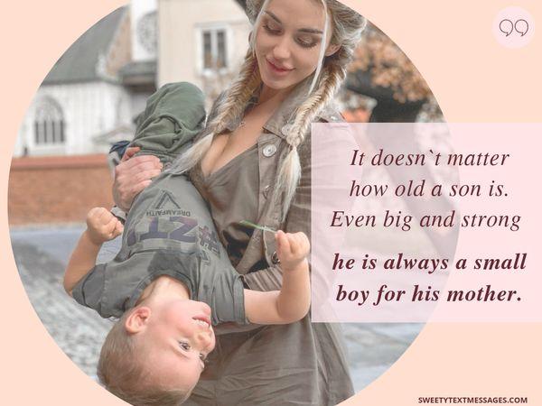 Citas de Madre e Hijo Amorosos con un profundo significado 8