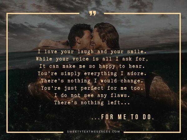 Poemas románticos sobre el amor para ella - Sorprende el texto de tu amor 11