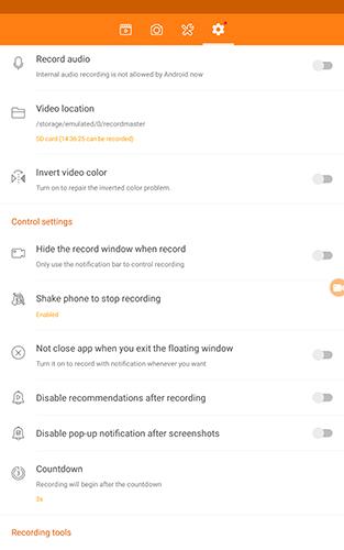 Cómo grabar la pantalla en un dispositivo Android 8