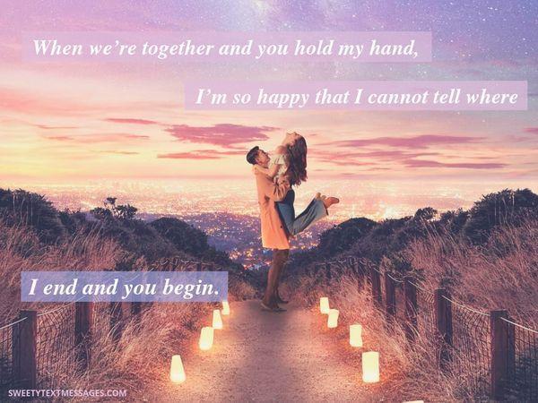 61 Mensajes de texto románticos y de amor para ella 12