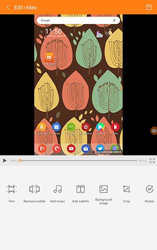 Cómo grabar la pantalla en un dispositivo Android 10