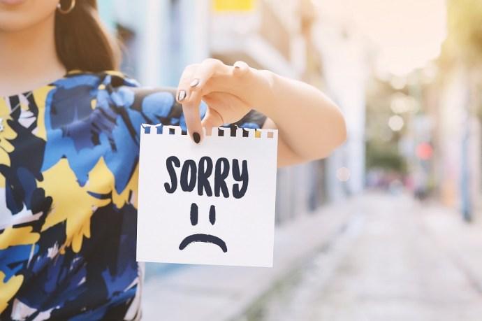 """Las mejores citas de """"Lo siento"""" para enviar el texto 4"""