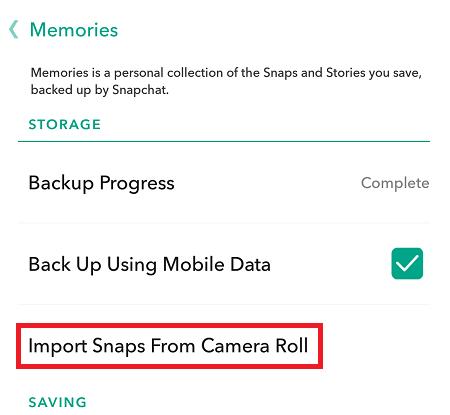 Cómo falsificar instantáneas en vivo en Snapchat 4