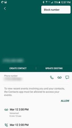 Cómo bloquear un número y las llamadas de spam en Android [Noviembre 2019] 5