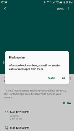 Cómo bloquear un número y las llamadas de spam en Android [Noviembre 2019] 6