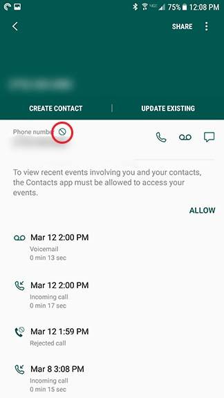 Cómo bloquear un número y las llamadas de spam en Android [Noviembre 2019] 7