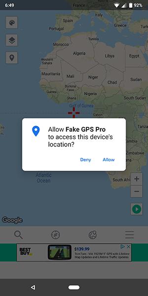 Cómo fingir o falsificar tu ubicación GPS en Android 8