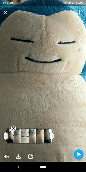 Cómo tomar videos/fotografías de Snapchat sin tocar la pantalla 5