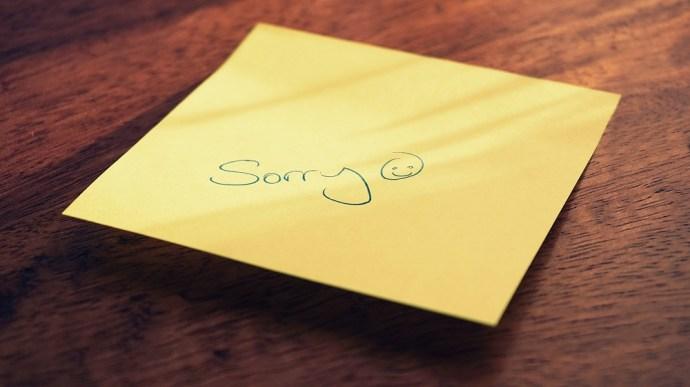 """Las mejores citas de """"Lo siento"""" para enviar el texto 2"""