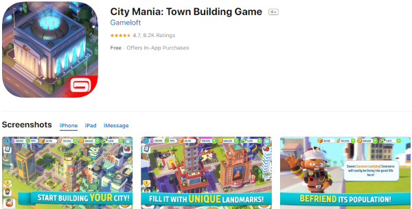 Los mejores Juegos de Construcción de Ciudades para el iPhone [diciembre de 2019] 4