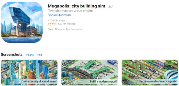 Los mejores Juegos de Construcción de Ciudades para el iPhone [diciembre de 2019] 8