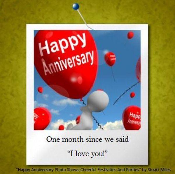 Párrafo de aniversario de 1 mes para el novio y la novia 18
