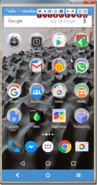 Seis sencillas formas de reflejar Android en su PC o TV 14