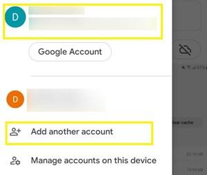 Cómo cambiar las fotos de Google a otra cuenta 2