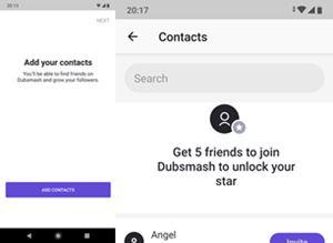 Cómo encontrar a tus amigos en Dubsmash 2