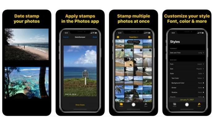 Cómo añadir marcas de fecha y hora a las fotos en el iPhone 3