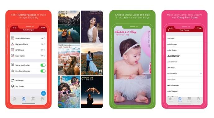 Cómo añadir marcas de fecha y hora a las fotos en el iPhone 5