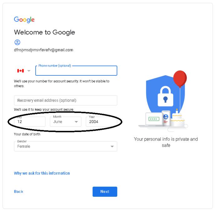 Cómo utilizar Gmail sin un número de teléfono 5