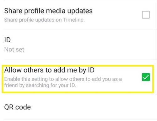 Cómo saber si alguien te agregó en el chat en línea 8