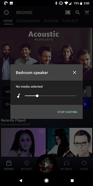 Cómo reproducir música de Amazon en la página de inicio de Google 18