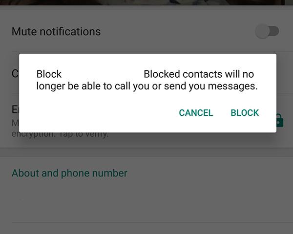 Cómo enviar un mensaje a una persona que le ha bloqueado en WhatsApp 2