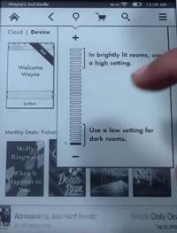 Cómo hacer que la pantalla de fuego de Kindle sea más brillante 4
