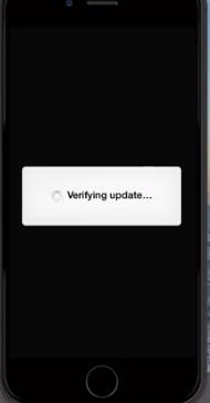 Cómo arreglar un iPhone atascado en la verificación de la actualización 2