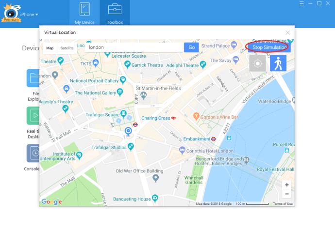 Cómo falsificar su ubicación en Find My Friends 7