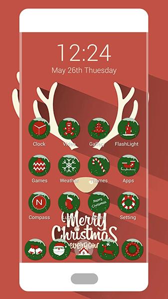 Los mejores fondos de pantalla y paquetes de iconos de Navidad [noviembre de 2019] 28