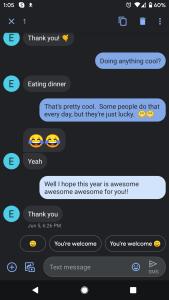 Cómo reenviar un mensaje de texto en Android 3
