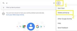 Cómo eliminar el historial de búsqueda de Google Photos 2