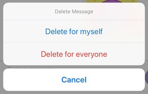 Cómo borrar mensajes en Viber 3