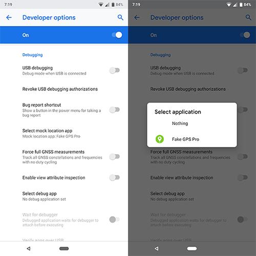 Cómo fingir o falsificar tu ubicación GPS en Android 11