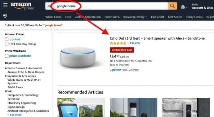 Cómo reproducir música de Amazon en la página de inicio de Google 1