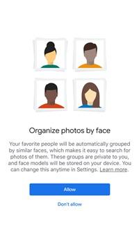 Cómo activar el reconocimiento de rostros en Google Photos 2