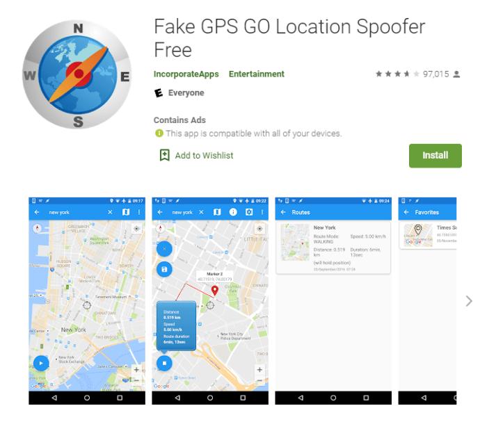 Cómo fingir o falsificar tu ubicación GPS en Android 7