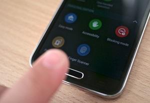 Cómo añadir una huella dactilar en Android 5