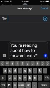 Cómo reenviar mensajes de texto a su correo electrónico 4