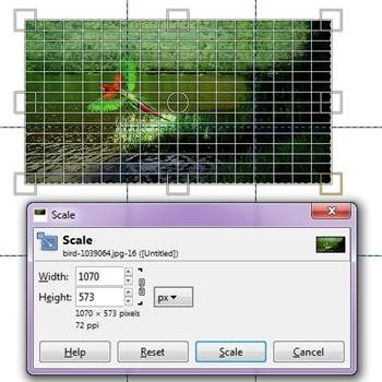 Cómo hacer un fotomontaje en Gimp 5